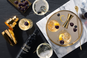 Festive Cocktails With CÎROC Black Raspberry Limited Edition